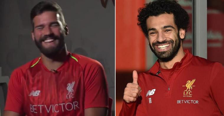 El mensaje de Salah a Alisson para que fichara por el Liverpool
