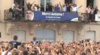 Imagen: VÍDEO | Griezmann revolucionó su ciudad natal en su visita como campeón del mundo