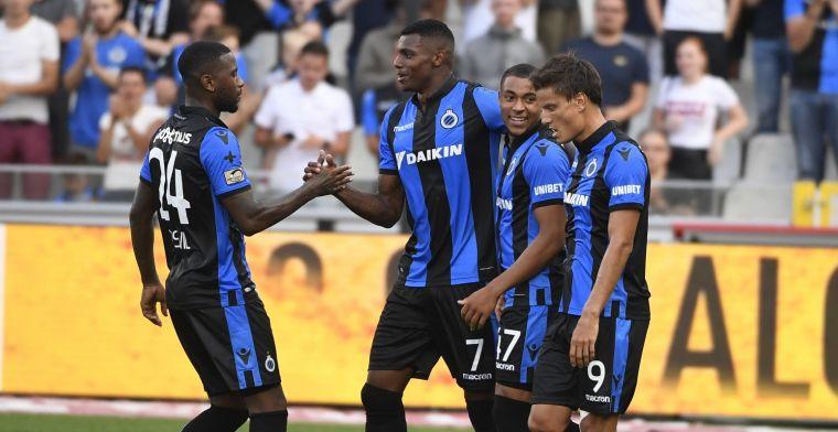Club Brugge heeft zijn eerste prijs van het seizoen al te pakken