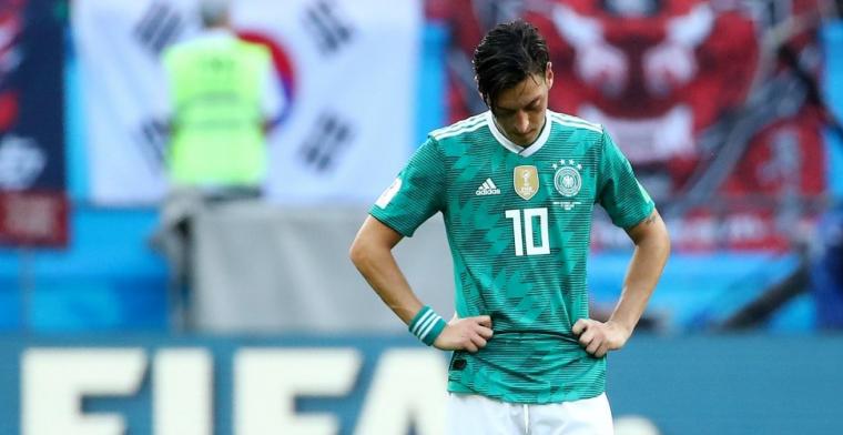 Özil hekelt Duitse voetbalbond en kondigt einde van interlandloopbaan aan