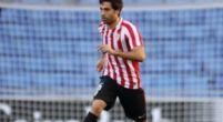 Imagen: El Huesca cierra la defensa con un jugador del Athletic de Bilbao