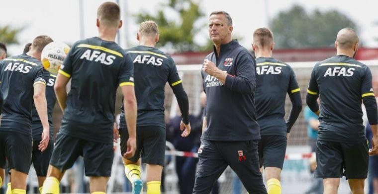'AZ dingt nog naar handtekening Eredivisie-spits; onderhandelingen in impasse'