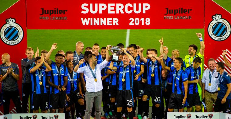 Afbeeldingsresultaat voor club brugge supercup 2018 - 2019