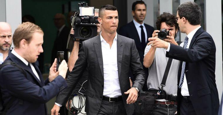 'Ronaldo imponeert met medische test: zeven procent vet, vijftig procent spieren'