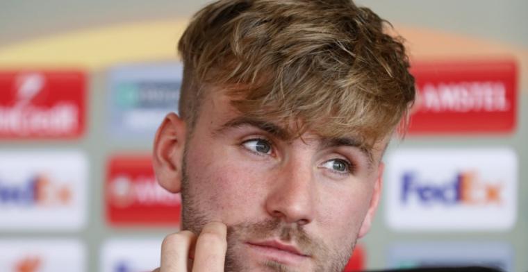 'Dikke' Shaw uitgelachen op social media: 'Nu eenmaal zo gebouwd, net als Rooney'