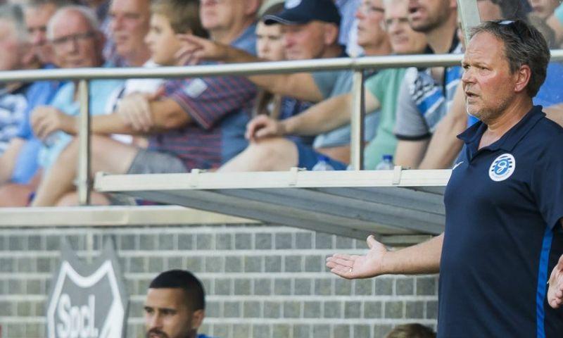 Afbeelding: De Jong pislink na verlies De Graafschap tegen amateurs: