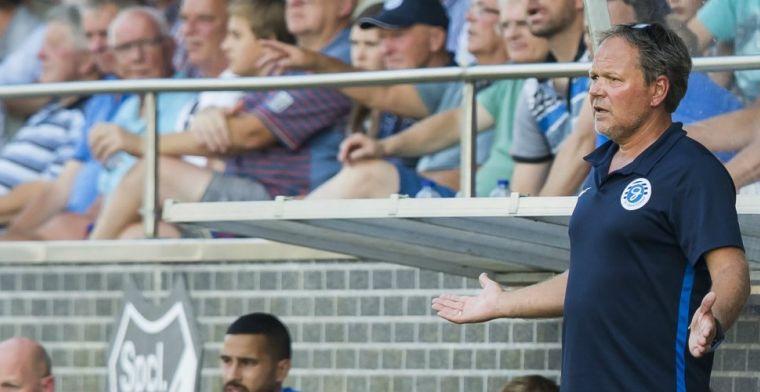 De Jong pislink na verlies De Graafschap tegen amateurs: Had 5-2 kunnen worden