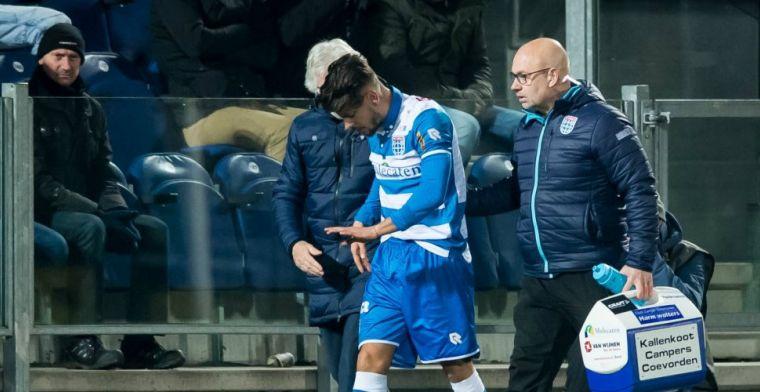 Vier mislukte jaren bij PEC Zwolle: 'Misschien had ik voor Ajax kunnen spelen'