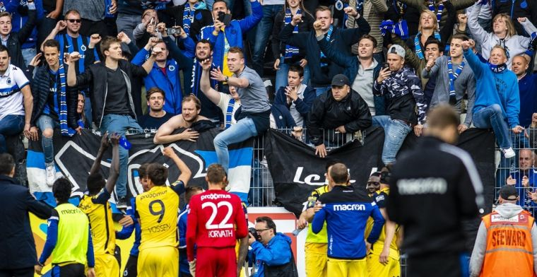 Club Brugge moet weer betalen na supportersincidenten tegen KV Mechelen