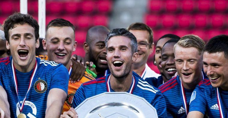 Feyenoord met jonge groep naar Slowakije: Van Persie haakt af, ook geen Botteghin