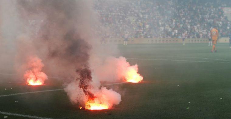 KNVB volgt voorbeeld Feyenoord: 'Kan tot levensgevaarlijke situaties leiden'