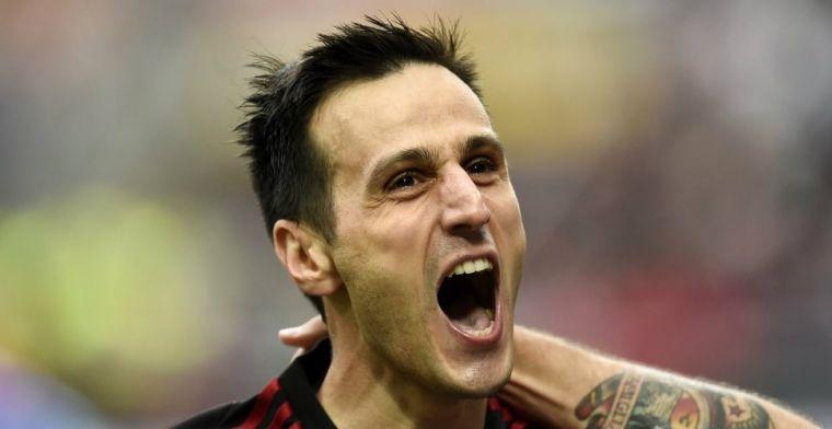 Weggestuurde Kalinic verlaat AC Milan per direct en verkast naar Madrid