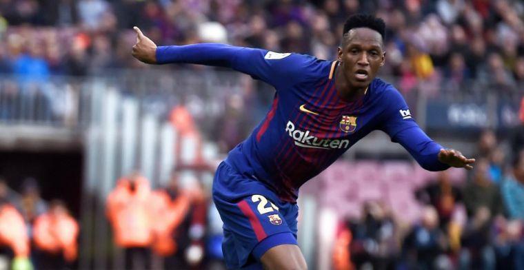 Barcelona bevestigt transfer van Mina voor 30 miljoen euro, ook Gomes vertrekt