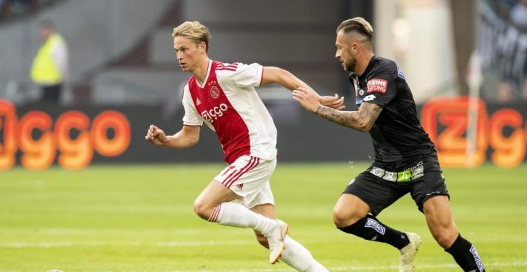 'Ajax bereikt akkoord met FC Barcelona over transfer van Frenkie de Jong'
