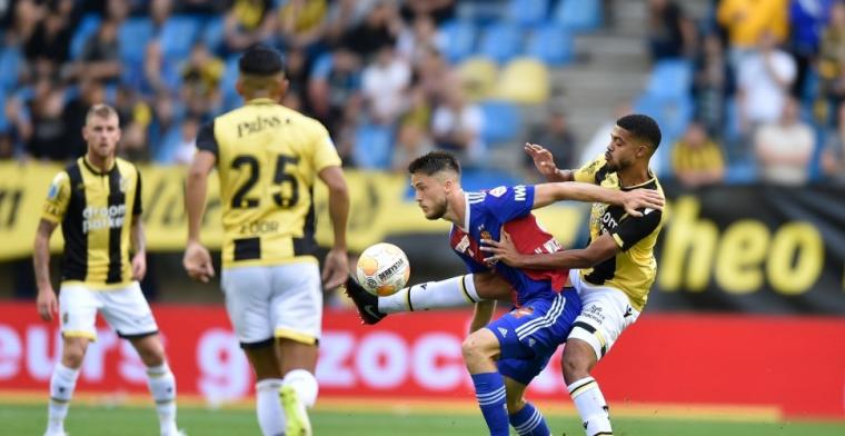 Van Wolfswinkel treft Vitesse in allerlaatste minuut in het hart: winst Basel