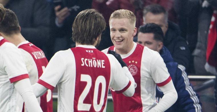 Van de Beek terug in basis tegen Heracles: 'Maar zullen per wedstrijd bekijken'