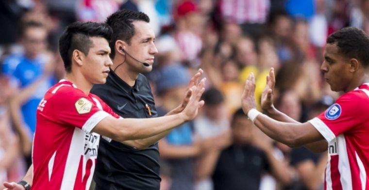 'Lozano vraagteken voor seizoensopening, PSV mag niets zeggen door privacywet'