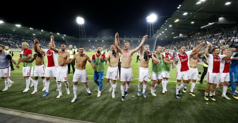 Vermeulen verwacht 'aardig gaatje' tussen Ajax en PSV: 'En Feyenoord er nog onder'