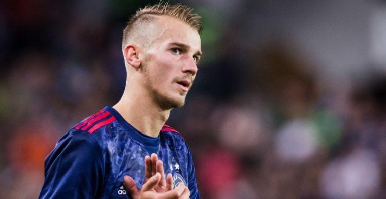 De Boer prijst 'groot talent' van Ajax: 'Ik zie op Instagram hoeveel hij doet'