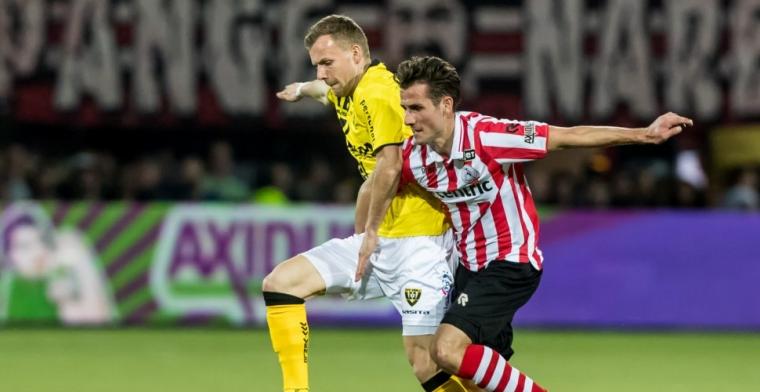 Voormalig Sparta-speler Van Moorsel heeft nieuwe club: 'Past het beste bij me'