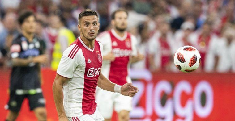 Tadic lovend over talenten Ajax: 'Moeten wel leren dat ze nooit kunnen ontspannen'