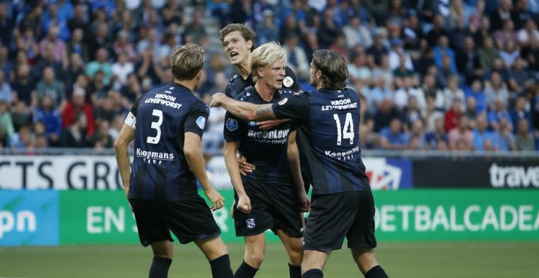 Heerenveen pakt zwaarbevochten punten in Zwolle: twee goals én rood voor Thorsby