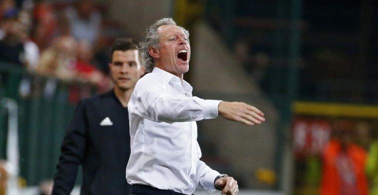 OPSTELLING: Preud'homme kiest voor een flink gewijzigd elftal