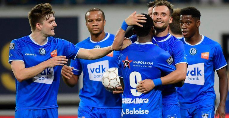 Eerste driepunter is binnen: Gent pakt overtuigende zege tegen Waasland-Beveren