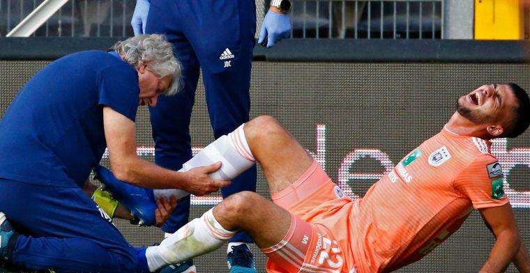 Basisspeler van Anderlecht kermend afgevoerd: lange onbeschikbaarheid dreigt