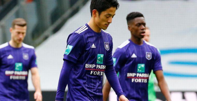 Daarom speelt Morioka niet bij Anderlecht: 'Hij viel toen steil achterover'