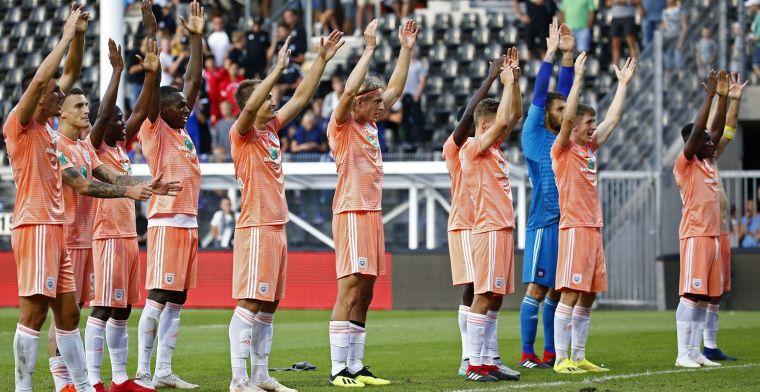 Mooi: Anderlecht laat goed hart zien in heel bijzondere oefenpartij