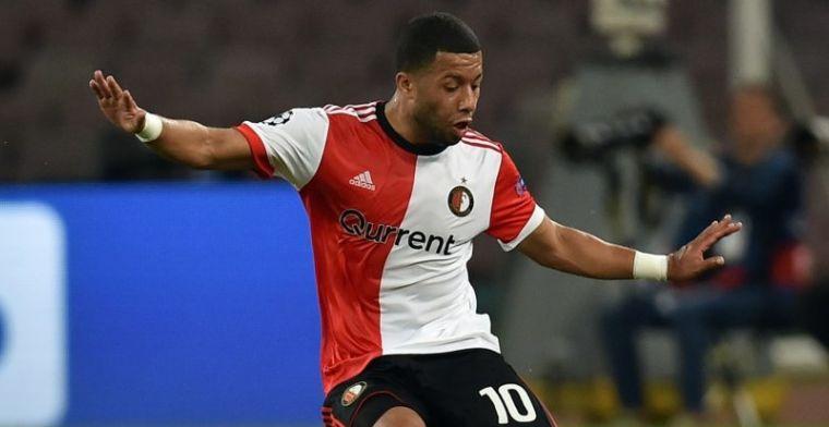 'Eintracht Frankfurt wil Vilhena, Feyenoord wil middenvelder niet laten gaan'