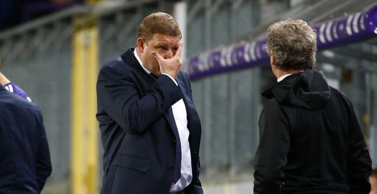 'Puzzelen bij Anderlecht, Vanhaezebrouck twijfelt over vervanger Cobbaut'