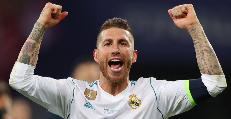 Sergio Ramos 'carga, apunta y dispara'  contra Cristiano y Jürgen Klopp