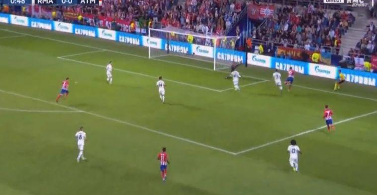 Wat een begin: Diego Costa schiet binnen minuut verwoestend hard 0-1 binnen