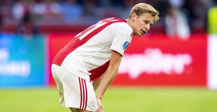 De Jong habla del futuro: En principio, me quedaré en el Ajax