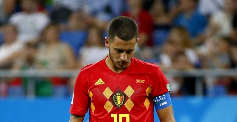 Soms vraagt Hazard zich af wat hij nog bij Chelsea doet