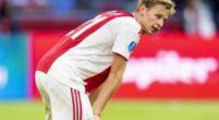 """Imagen: De Jong habla del futuro: """"En principio, me quedaré en el Ajax"""""""