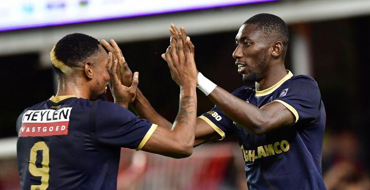Antwerp komt met uitstekend nieuws in aanloop naar Club Brugge