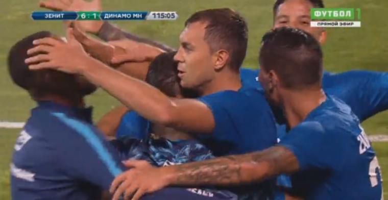 Bizar 2.0: Zenit maakt 4-0 nederlaag ongedaan en wint thuis met 8-1