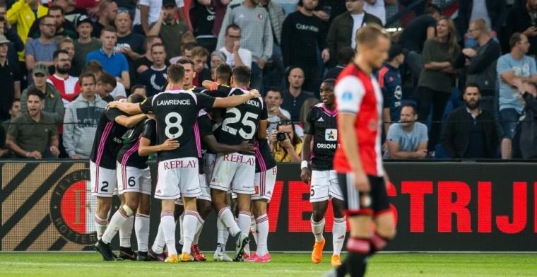 Feyenoord snijdt zichzelf thuis in vingers en is uitgeschakeld door AS Trencin