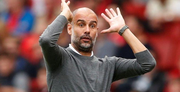 Guardiola no puede estar más de media hora sin hablar de fútbol