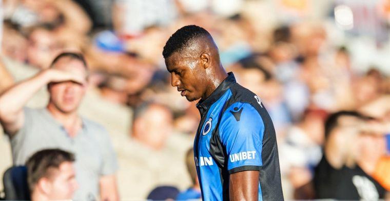 Wesley laat zich uit over een mogelijk vertrek bij Club Brugge