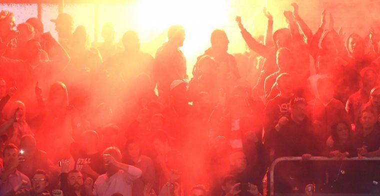 'Supporters Antwerp uiten weer dreigement aan fans Club Brugge'