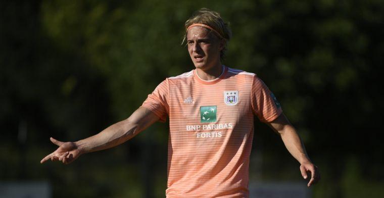 Jonge Anderlecht-verdediger geniet van speelminuten: Een droom die uitkomt