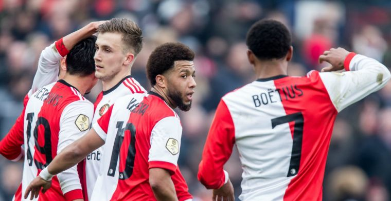 'Feyenoord is klaar met Boëtius, Vilhena mag alleen weg voor miljoenenbedrag'