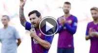 Imagen: VÍDEO | Así fueron las emocionantes palabras de Messi antes del Gamper