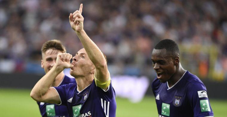 Anderlecht heeft Gouden Stier niet nodig in makkelijke overwinning tegen Moeskroen