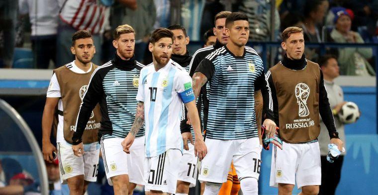 Argentijnse bondscoach grijpt in: Messi, Higuain, Di Maria en Aguëro blijven thuis