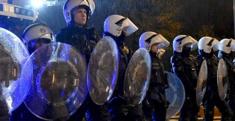 Agenten te paard, sproeiwagens en helikopter voor clash tussen Antwerp en Club
